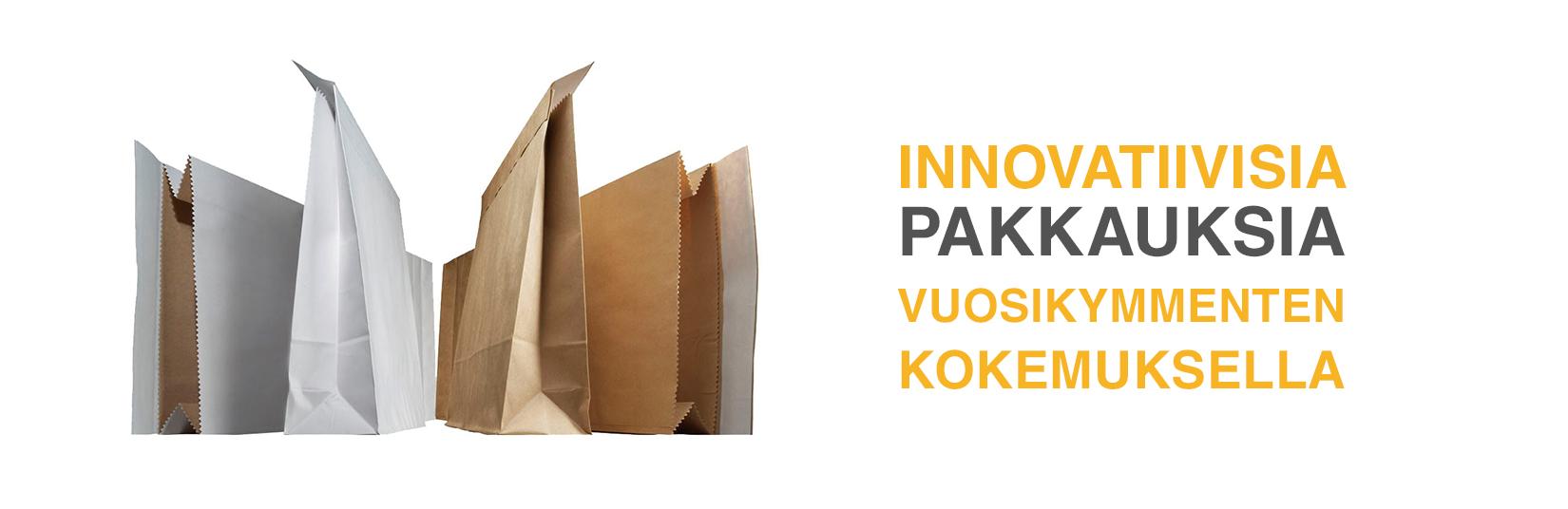 Innovatiivisia pakkauksia