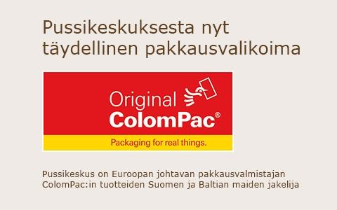 ColomPac-myynti Pussikeskus