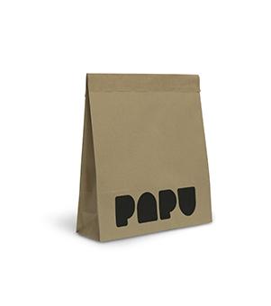 PAPU painettu tuplapussi